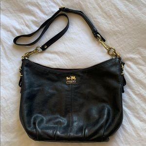Coach Madison Leather Convertible Hobo Bag